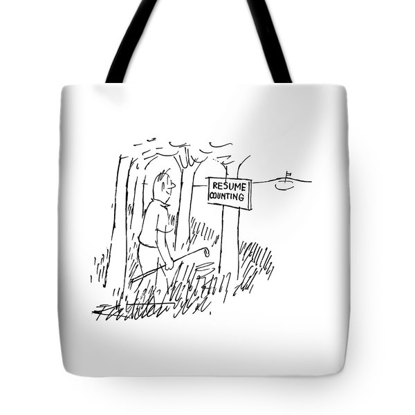 New Yorker August 13th, 1955 Tote Bag