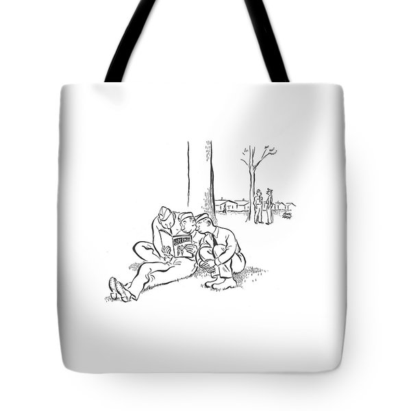 New Yorker August 23rd, 1941 Tote Bag