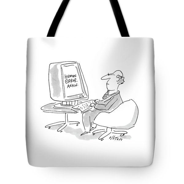 New Yorker August 23rd, 1993 Tote Bag