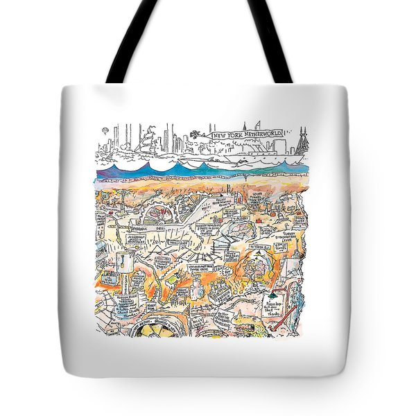 New Yorker February 22nd, 1999 Tote Bag