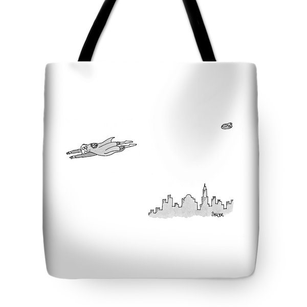 New Yorker January 11th, 1999 Tote Bag