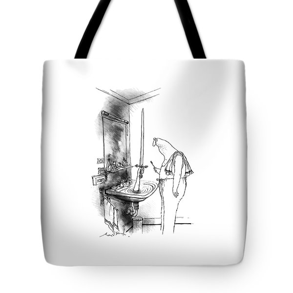 New Yorker January 15th, 1990 Tote Bag