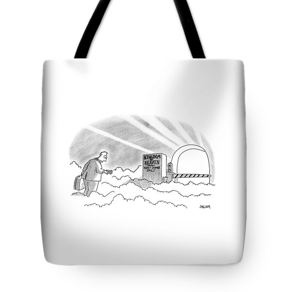 New Yorker January 7th, 1991 Tote Bag