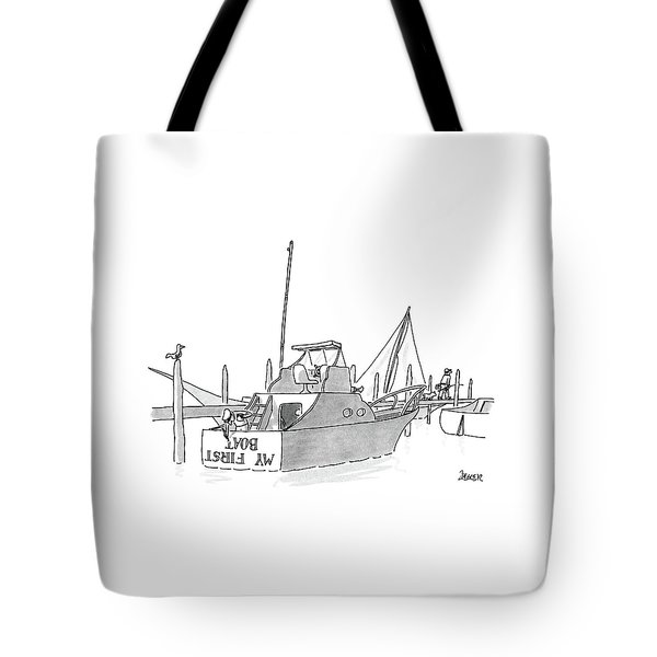 New Yorker July 11th, 1988 Tote Bag