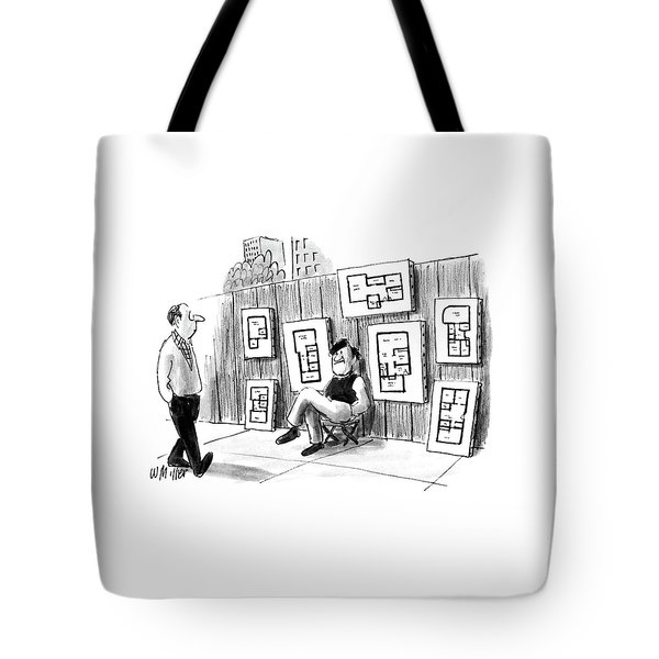 New Yorker July 25th, 1988 Tote Bag