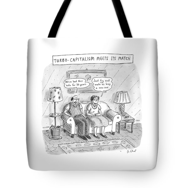 New Yorker May 10th, 1999 Tote Bag