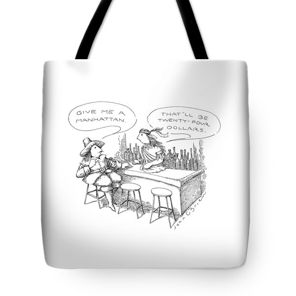 New Yorker November 30th, 1987 Tote Bag