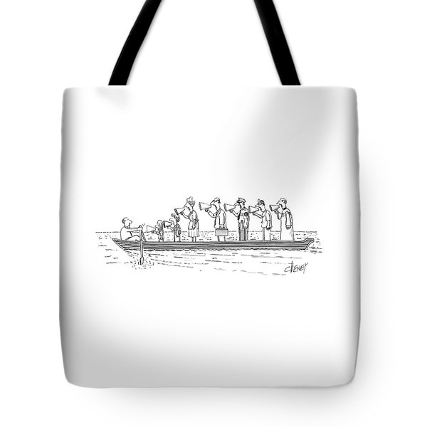New Yorker October 10th, 1983 Tote Bag