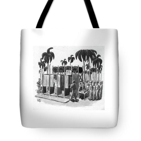 New Yorker October 21st, 1944 Tote Bag