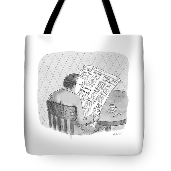 New Yorker October 25th, 1993 Tote Bag