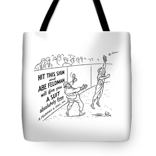 New Yorker October 8th, 1938 Tote Bag