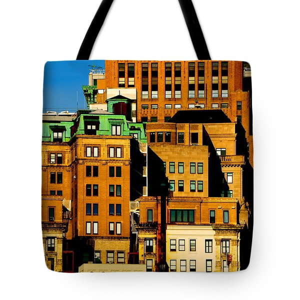 New York Morning Tote Bag