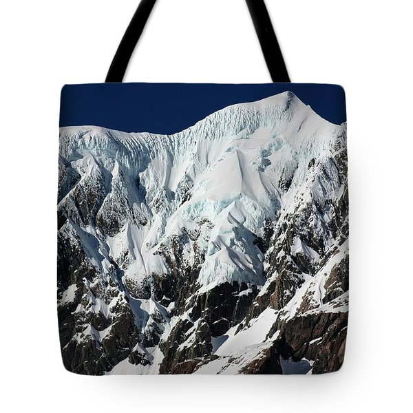 New Zealand Mountains Tote Bag