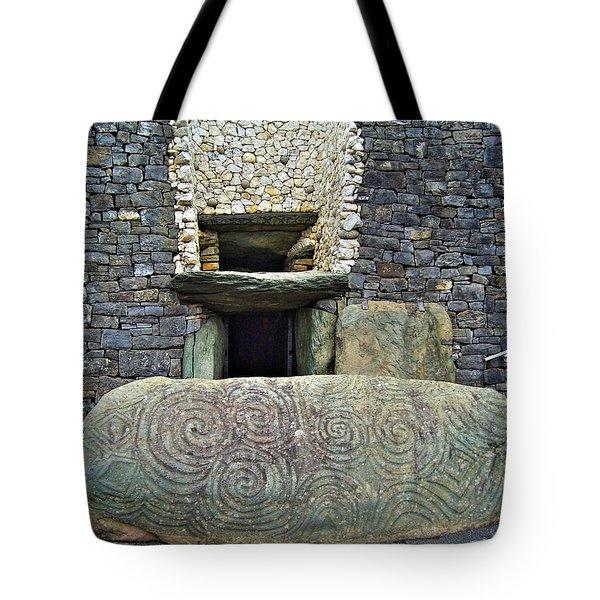 Newgrange Entrance Tote Bag
