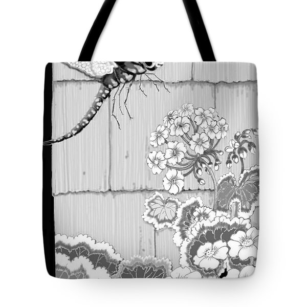 Tote Bag featuring the digital art Newly Emerged by Carol Jacobs