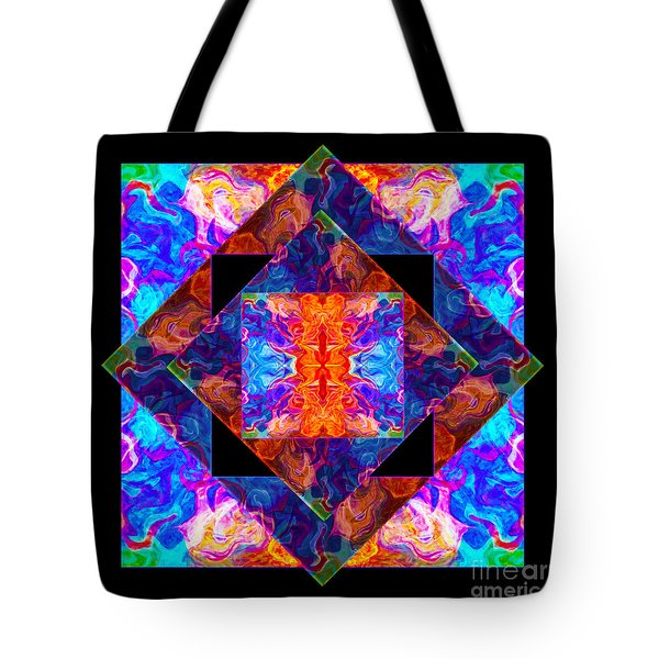 Newly Formed Bliss Mandala Artwork Tote Bag