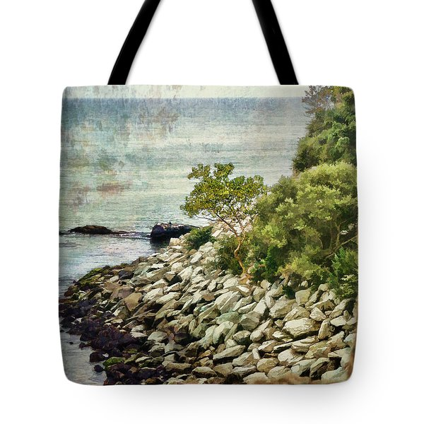 Newport Cliff Walk Tote Bag