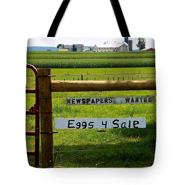 Newspapers Wanted Eggs 4 Sale Tote Bag