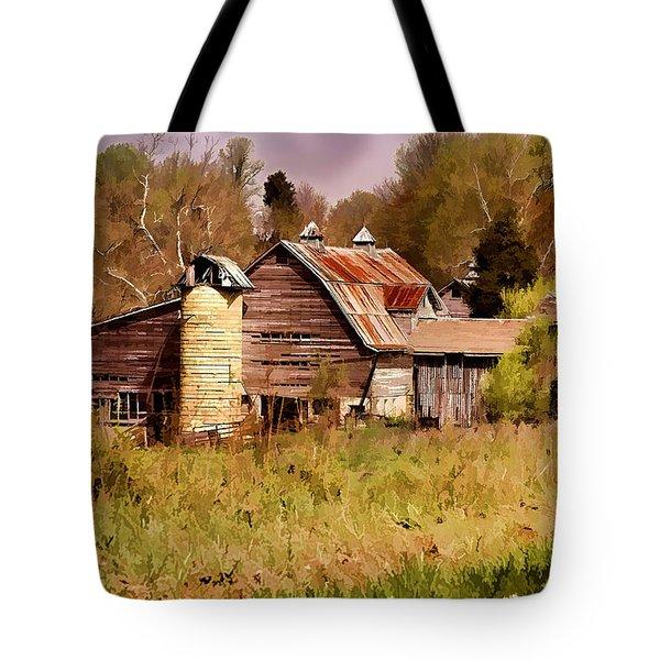 Newton Township Barn Tote Bag