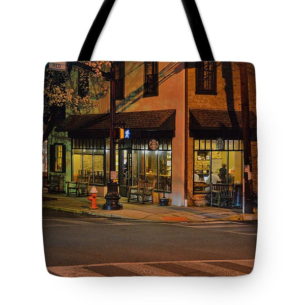 Newtown Nighthawks Tote Bag