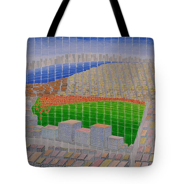 Ney York Cityscape Tote Bag
