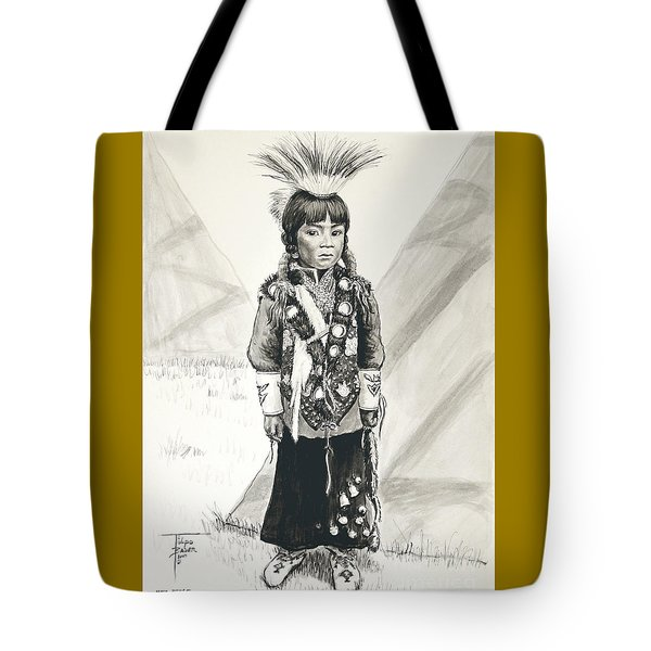 Nez Perce Prince Tote Bag