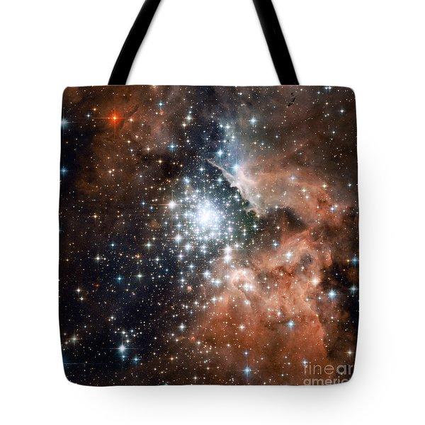 Ngc 3603, Star Cluster Tote Bag