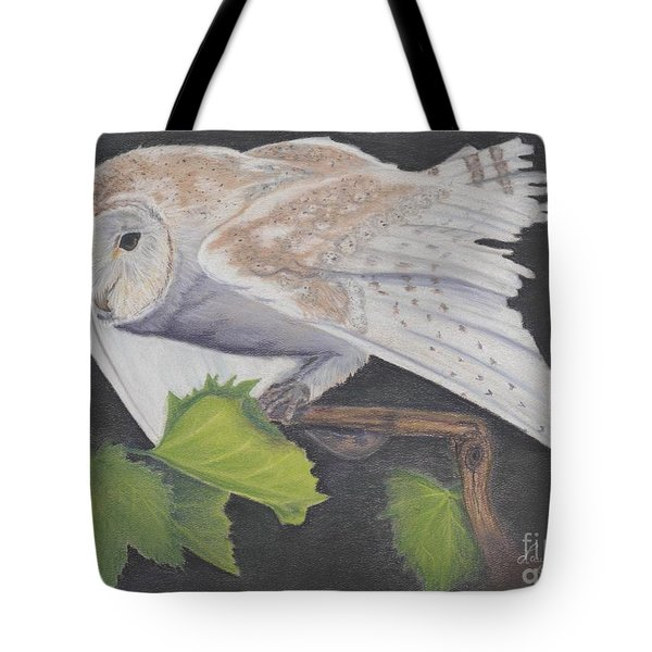 Nght Owl Tote Bag by Laurianna Taylor