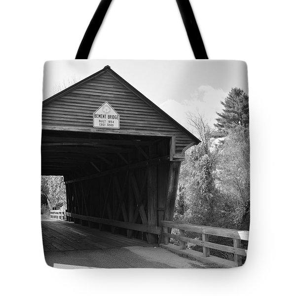 Nh Covered Bridge Tote Bag