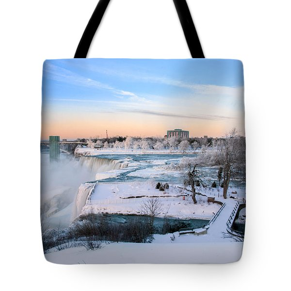 Niagara Falls 3d22213 Tote Bag by Guy Whiteley