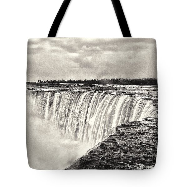 Tote Bag featuring the photograph Niagara Falls  by Garvin Hunter