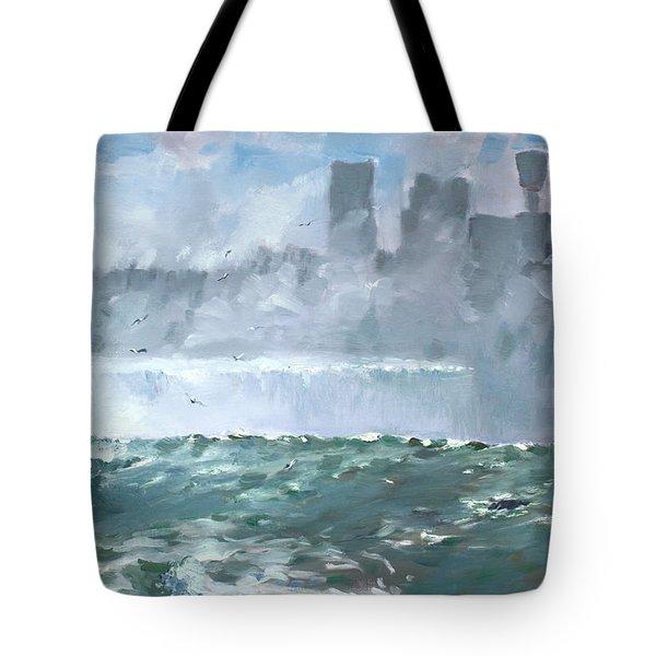 Niagara  Falls Mist  Tote Bag
