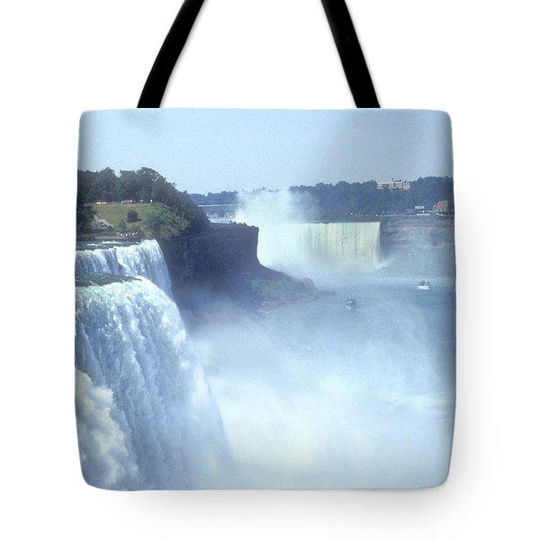 Niagara Falls - New York Tote Bag by Mike McGlothlen