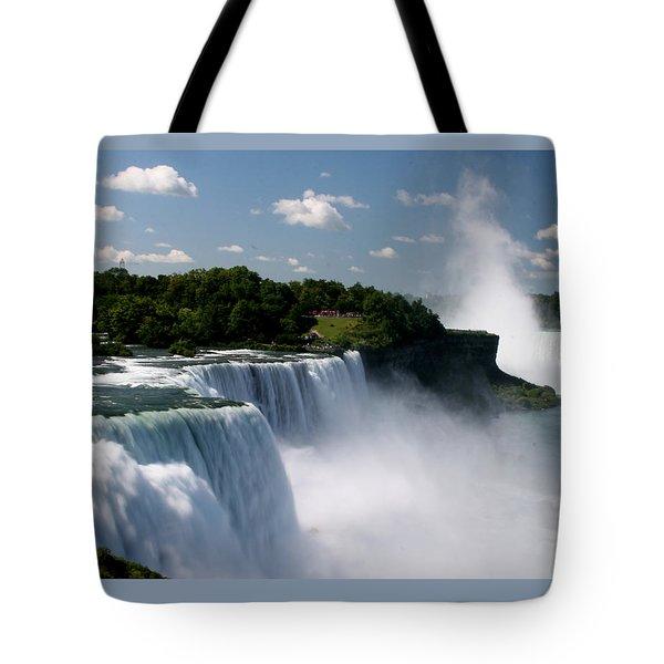 Niagara Falls Tote Bag by Sandy Fraser