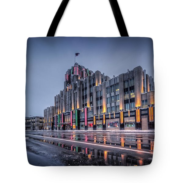 Niagara Mohawk Syracuse Tote Bag by Everet Regal