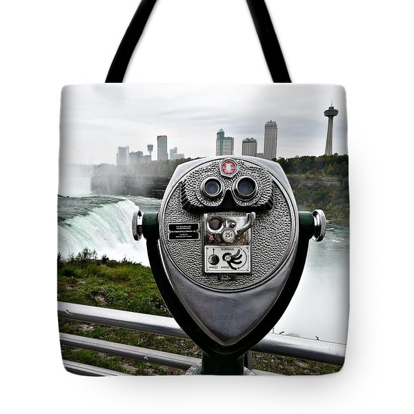 Niagara Vigil Tote Bag by Richard Reeve