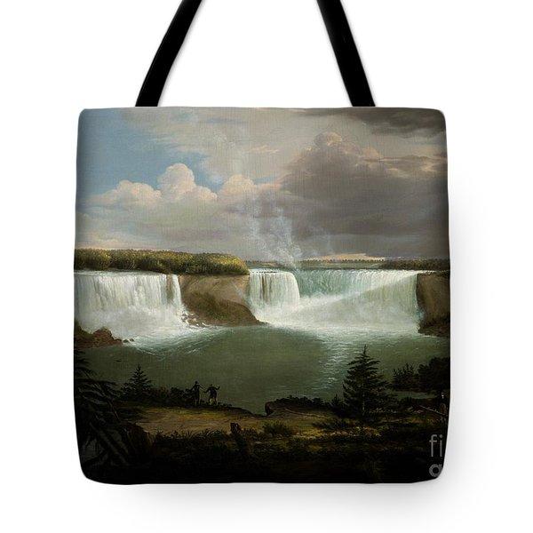Niagra Falls By Alvan Fisher Tote Bag