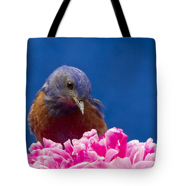 Nice Flower Tote Bag by Jean Noren