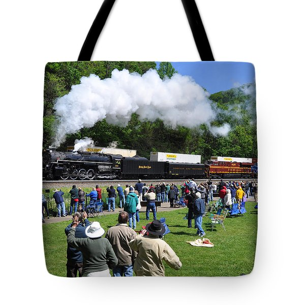 Nickel Plate Berkshire At Horseshoe Curve Tote Bag