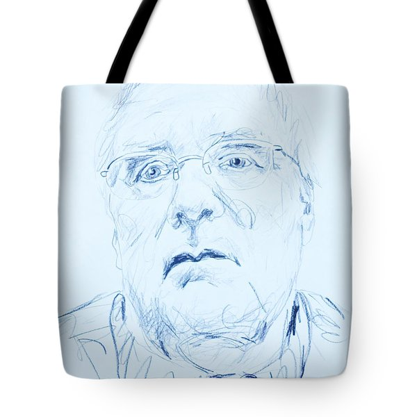 Nick's Portrait Tote Bag