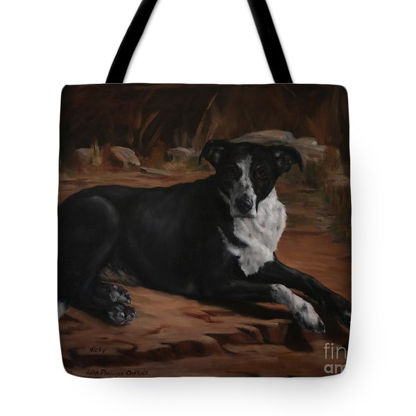 Nicky Tote Bag by Lisa Phillips Owens