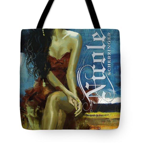 Nicole Scherzinger Tote Bag by Corporate Art Task Force