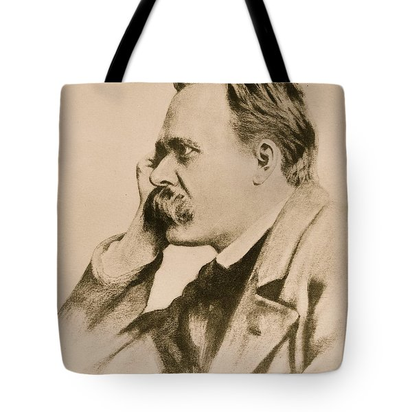 Nietzsche Tote Bag by Anonymous