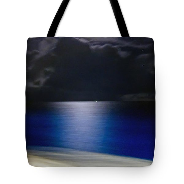 Night And Water Tote Bag