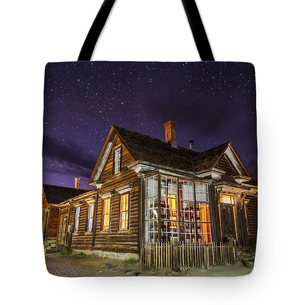 Night At The Cain House Tote Bag