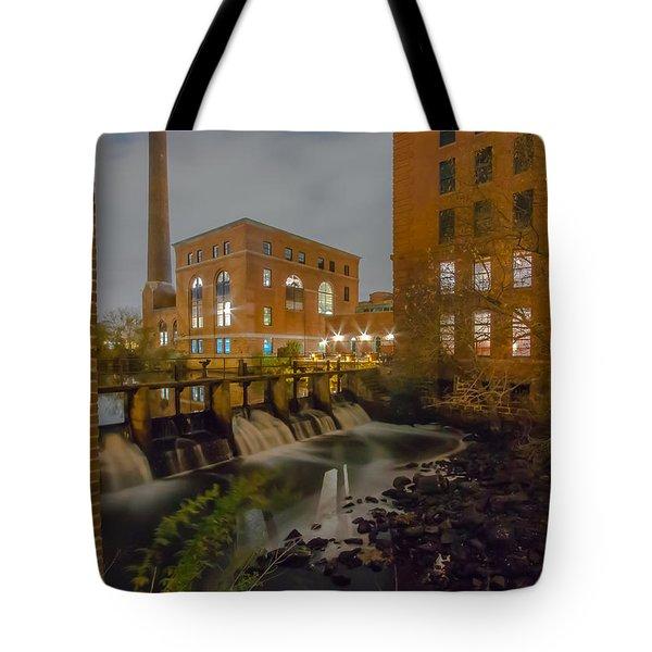 Night At The River Tote Bag by Brian MacLean