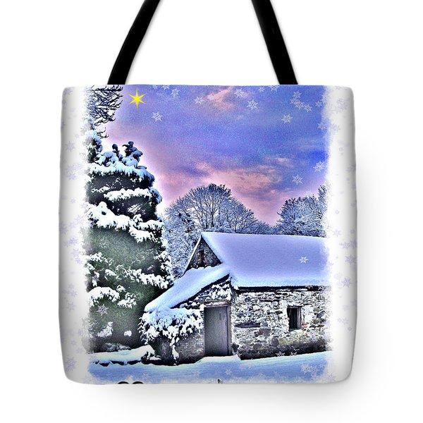 Christmas Card 27 Tote Bag by Nina Ficur Feenan