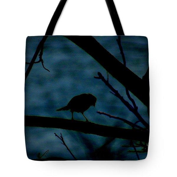 Night Bird Tote Bag