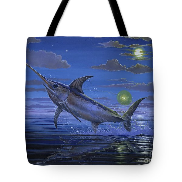 Night Bite Off0066 Tote Bag by Carey Chen
