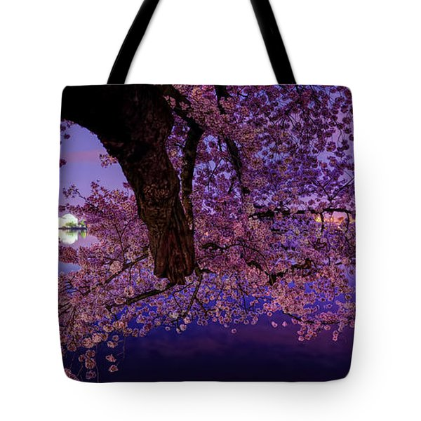 Night Blossoms Tote Bag